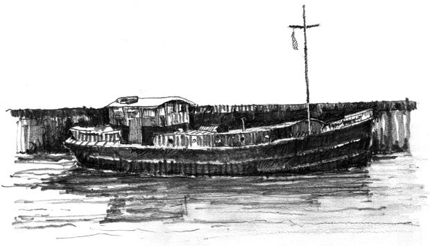 Hatcher-Prichard-Architects-Bristol-Cardiff_Sketch_River Boat